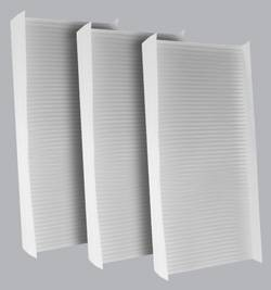 FilterHeads - AQ1037 Cabin Air Filter - Particulate Media 3PK - Buy 2, Get 1 Free!