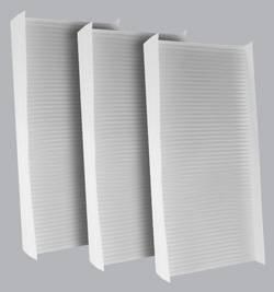 FilterHeads - AQ1037 Cabin Air Filter - Particulate Media 3PK - Buy 2, Get 1 Free!