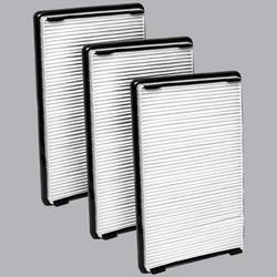 FilterHeads - AQ1038 Cabin Air Filter - Particulate Media 3PK - Buy 2, Get 1 Free!