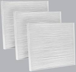 FilterHeads - AQ1042 Cabin Air Filter - Particulate Media 3PK - Buy 2, Get 1 Free!