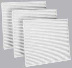 FilterHeads - AQ1044 Cabin Air Filter - Particulate Media 3PK - Buy 2, Get 1 Free!