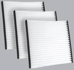 FilterHeads - AQ1048 Cabin Air Filter - Particulate Media 3PK - Buy 2, Get 1 Free!