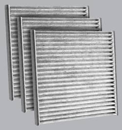FilterHeads - AQ1048C Cabin Air Filter - Carbon Media, Absorbs Odors 3PK - Buy 2, Get 1 Free!