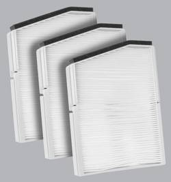 FilterHeads - AQ1051 Cabin Air Filter - Particulate Media 3PK - Buy 2, Get 1 Free!