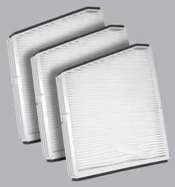 FilterHeads - AQ1052 Cabin Air Filter - Particulate Media 3PK - Buy 2, Get 1 Free!