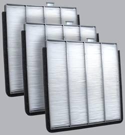 FilterHeads - AQ1054 Cabin Air Filter - Particulate Media 3PK - Buy 2, Get 1 Free!