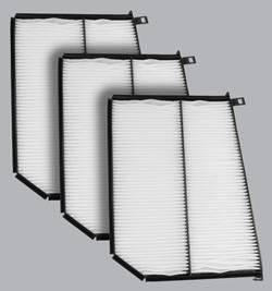 FilterHeads - AQ1057 Cabin Air Filter - Particulate Media 3PK - Buy 2, Get 1 Free!