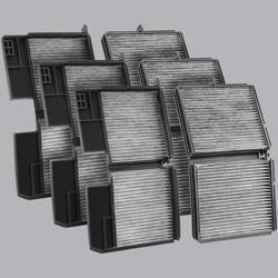 FilterHeads - AQ1061 Cabin Air Filter - Carbon Media, Absorbs Odors 3PK - Buy 2, Get 1 Free!