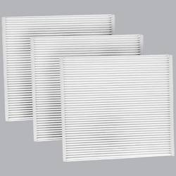 FilterHeads - AQ1063 Cabin Air Filter - Particulate Media 3PK - Buy 2, Get 1 Free!
