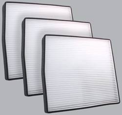 FilterHeads - AQ1065 Cabin Air Filter - Particulate Media 3PK - Buy 2, Get 1 Free!