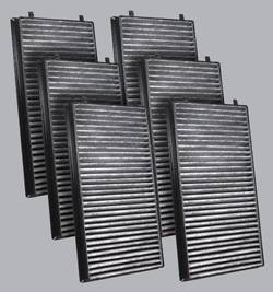 FilterHeads - AQ1066C Cabin Air Filter - Carbon Media, Absorbs Odors 3PK - Buy 2, Get 1 Free!