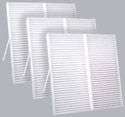 FilterHeads - AQ1070 Cabin Air Filter - Particulate Media 3PK - Buy 2, Get 1 Free!