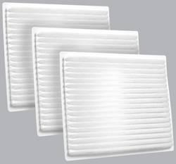 FilterHeads - AQ1072 Cabin Air Filter - Particulate Media 3PK - Buy 2, Get 1 Free!