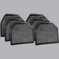 FilterHeads - AQ1078C Cabin Air Filter - Carbon Media, Absorbs Odors 3PK - Buy 2, Get 1 Free!