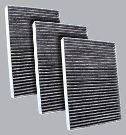 FilterHeads - AQ1082C Cabin Air Filter - Carbon Media, Absorbs Odors 3PK - Buy 2, Get 1 Free!