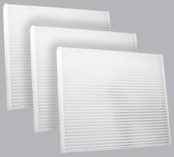 FilterHeads - AQ1085 Cabin Air Filter - Particulate Media 3PK - Buy 2, Get 1 Free!