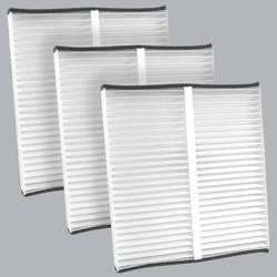 FilterHeads - AQ1087 Cabin Air Filter - Particulate Media 3PK - Buy 2, Get 1 Free!