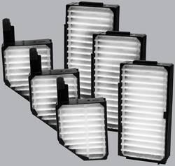 FilterHeads - AQ1090 Cabin Air Filter - Particulate Media 3PK - Buy 2, Get 1 Free!
