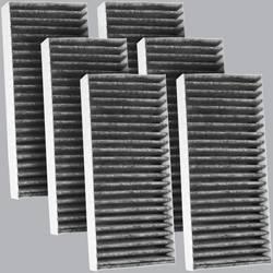 FilterHeads - AQ1095C Cabin Air Filter - Carbon Media, Absorbs Odors 3PK - Buy 2, Get 1 Free!