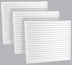 FilterHeads - AQ1102 Cabin Air Filter - Particulate Media 3PK - Buy 2, Get 1 Free!