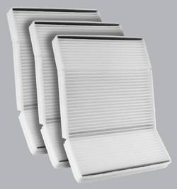 FilterHeads - AQ1103 Cabin Air Filter - Particulate Media 3PK - Buy 2, Get 1 Free!