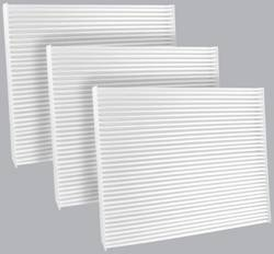 FilterHeads - AQ1104 Cabin Air Filter - Particulate Media 3PK - Buy 2, Get 1 Free!