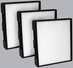 FilterHeads - AQ1107 Cabin Air Filter - Particulate Media 3PK - Buy 2, Get 1 Free!