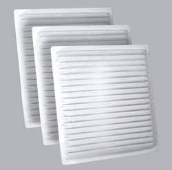 FilterHeads - AQ1109 Cabin Air Filter - Particulate Media 3PK - Buy 2, Get 1 Free!