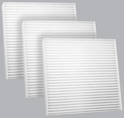 FilterHeads - AQ1111 Cabin Air Filter - Particulate Media 3PK - Buy 2, Get 1 Free!