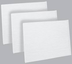 FilterHeads - AQ1114 Cabin Air Filter - Particulate Media 3PK - Buy 2, Get 1 Free!