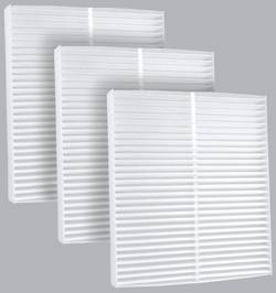 FilterHeads - AQ1119 Cabin Air Filter - Particulate Media 3PK - Buy 2, Get 1 Free!
