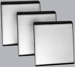 FilterHeads - AQ1120 Cabin Air Filter - Particulate Media 3PK - Buy 2, Get 1 Free!