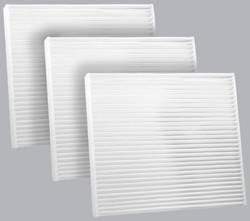 FilterHeads - AQ1121 Cabin Air Filter - Particulate Media 3PK - Buy 2, Get 1 Free!