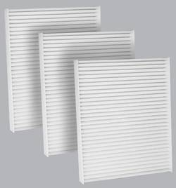 FilterHeads - AQ1132 Cabin Air Filter - Particulate Media 3PK - Buy 2, Get 1 Free!