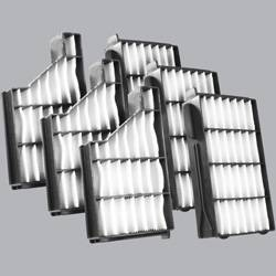 FilterHeads - AQ1135 Cabin Air Filter - Particulate Media 3PK - Buy 2, Get 1 Free!
