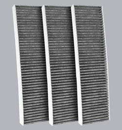FilterHeads - AQ1139C Cabin Air Filter - Carbon Media, Absorbs Odors 3PK - Buy 2, Get 1 Free!