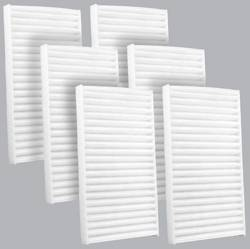 FilterHeads - AQ1142 Cabin Air Filter - Particulate Media 3PK - Buy 2, Get 1 Free!