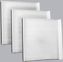 FilterHeads - AQ1143 Cabin Air Filter - Particulate Media 3PK - Buy 2, Get 1 Free!