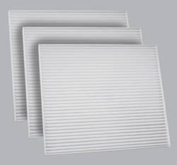 FilterHeads - AQ1144 Cabin Air Filter - Particulate Media 3PK - Buy 2, Get 1 Free!
