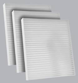 FilterHeads - AQ1152 Cabin Air Filter - Particulate Media 3PK - Buy 2, Get 1 Free!