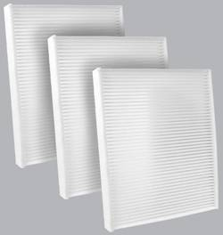 FilterHeads - AQ1153 Cabin Air Filter - Particulate Media 3PK - Buy 2, Get 1 Free!