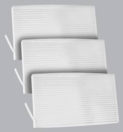 FilterHeads - AQ1154 Cabin Air Filter - Particulate Media 3PK - Buy 2, Get 1 Free!