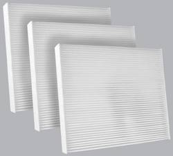 FilterHeads - AQ1156 Cabin Air Filter - Particulate Media 3PK - Buy 2, Get 1 Free!