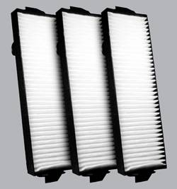 FilterHeads - AQ1162 Cabin Air Filter - Particulate Media 3PK - Buy 2, Get 1 Free!