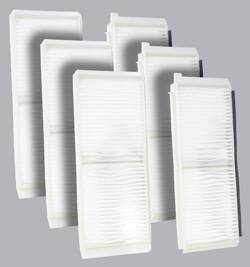 FilterHeads - AQ1163 Cabin Air Filter - Particulate Media 3PK - Buy 2, Get 1 Free!