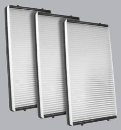 FilterHeads - AQ1165 Cabin Air Filter - Particulate Media 3PK - Buy 2, Get 1 Free!