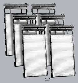 FilterHeads - AQ1166 Cabin Air Filter - Particulate Media 3PK - Buy 2, Get 1 Free!