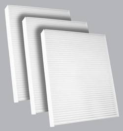 FilterHeads - AQ1167 Cabin Air Filter - Particulate Media 3PK - Buy 2, Get 1 Free!