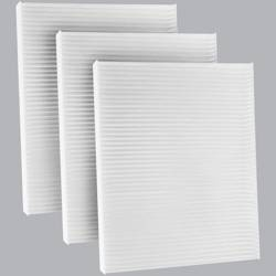 FilterHeads - AQ1168 Cabin Air Filter - Particulate Media 3PK - Buy 2, Get 1 Free!
