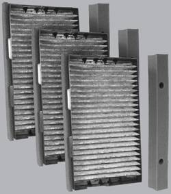 FilterHeads - AQ1169C Cabin Air Filter - Carbon Media, Absorbs Odors 3PK - Buy 2, Get 1 Free!